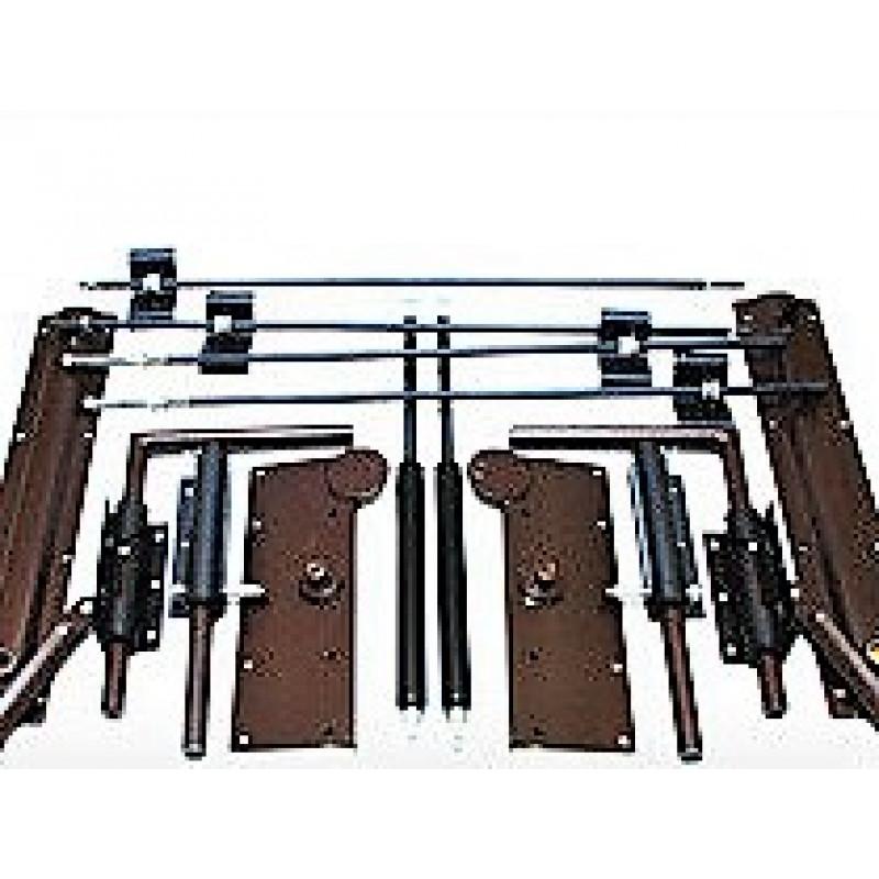 Механизм трансформации для шкаф-кровати с автоматическими ножками до 1200 N газ лифт (Турция)