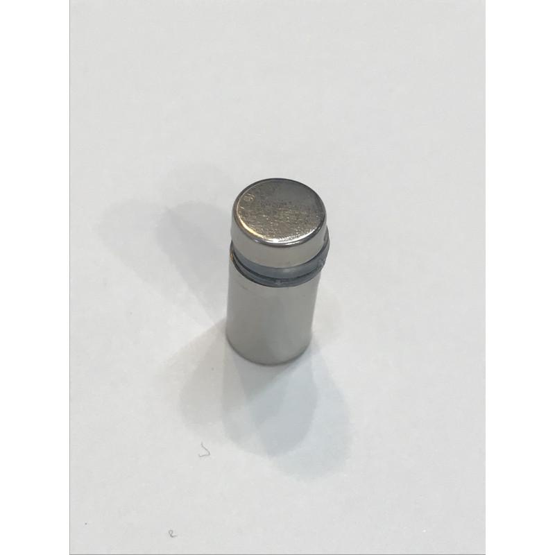 Дистанционное крепление для стекла 12*20 хром
