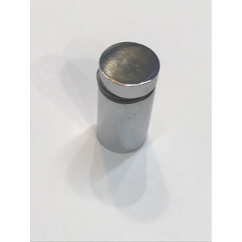 Дистанционное крепление для стекла 16*30 хром