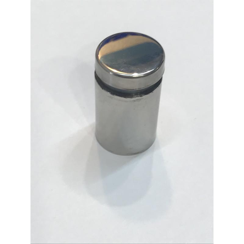 Дистанционное крепление для стекла 19*30 хром