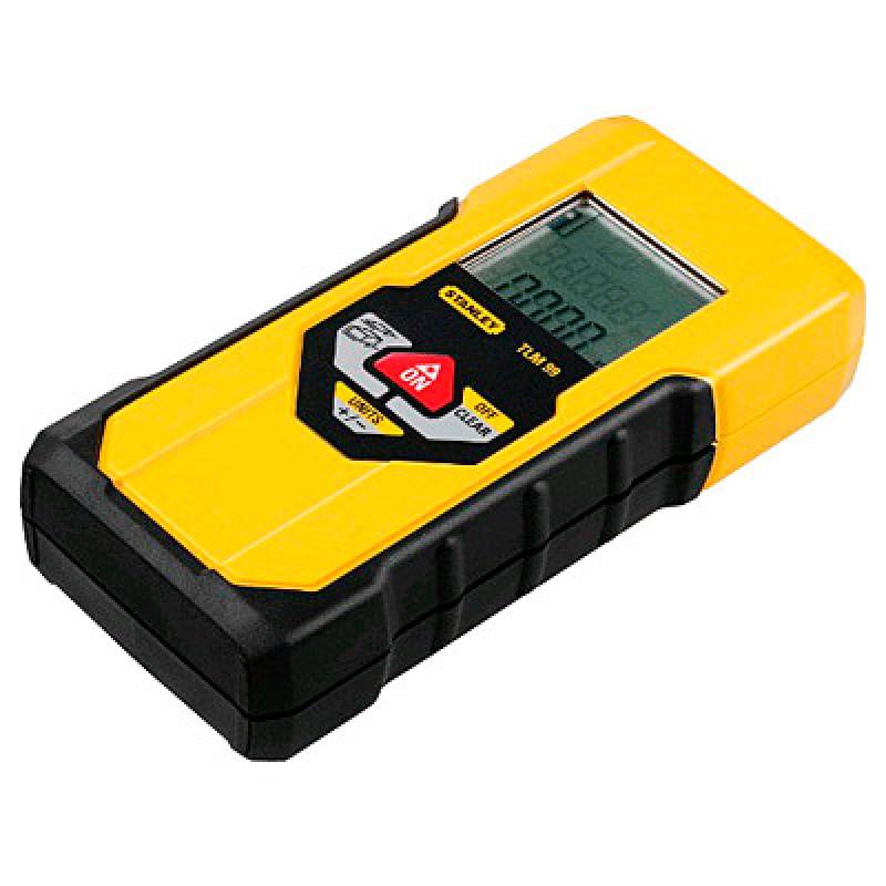 """Дальномер лазерный STANLEY """"TLM 99 """". дальность действия: 30м. Погрешность: +/- 2 мм."""