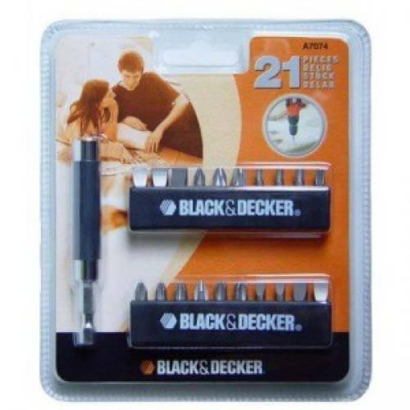 Набор 21 предм. BLACK+DECKER A7074