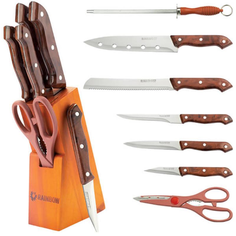 MR-1404 Ножи Rainbow (7 предметов цветные ручки)