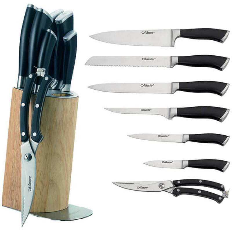 MR-1422 Ножи Maestro (8 предметов пластиковые ручки)