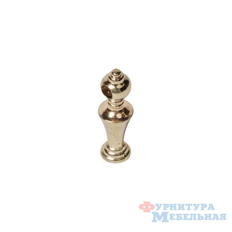 Декоративное ограждение столбик (mts10105-1) золото (проходное и непроходное)