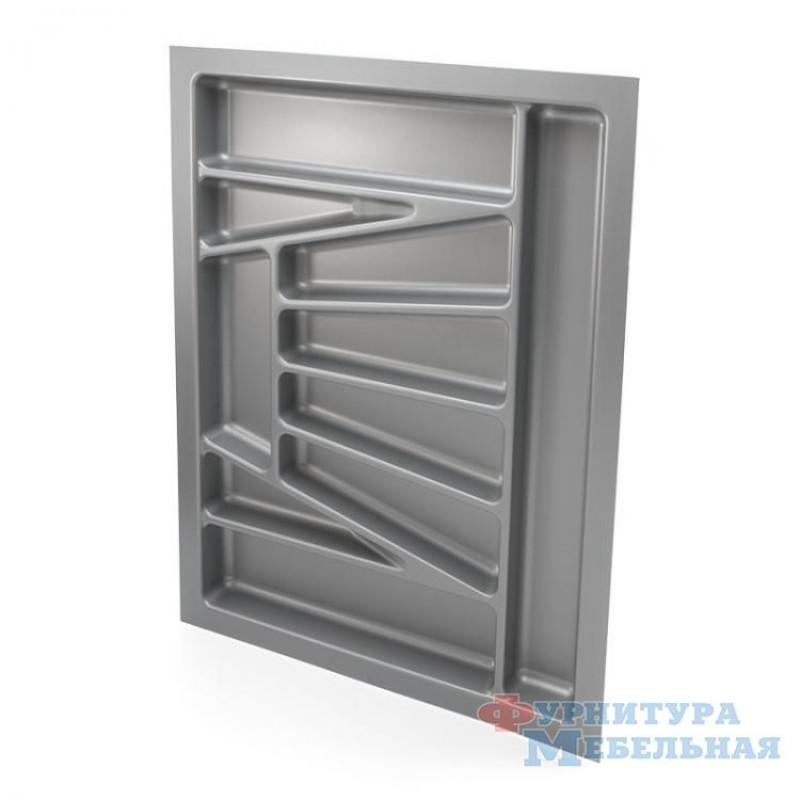 Лоток кух.металик 700