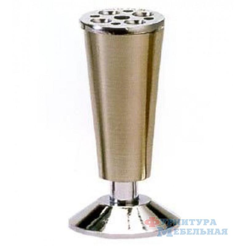 Нога А218 (120мм) серебро
