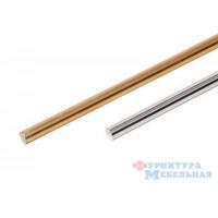 Прут для ограждения (mts 10106-2) хром 2 метра
