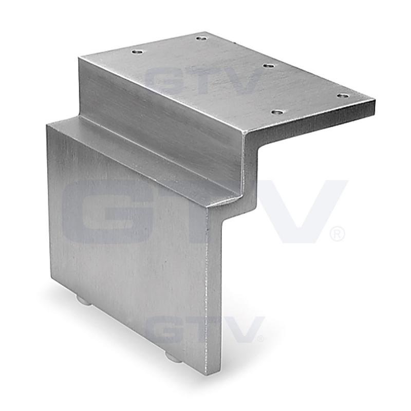 GTV Ножка мебельная XH3065, алюминий