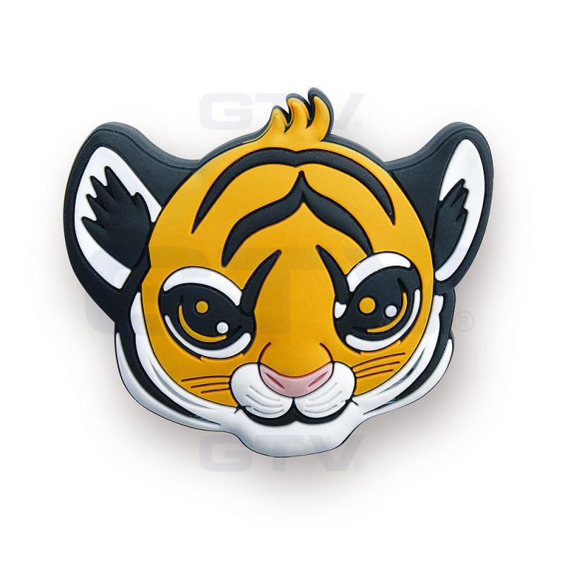 GTV Ручка детская резиновая тигрик