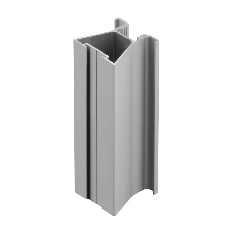 GTV Aлюминиевый профиль-ручка ARCO для системы QUANTUM R + L=2,7 m