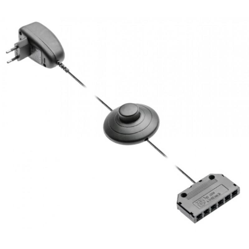 GTV Блок питания для светодиодных клипс 1,5w + Дистрибьютор