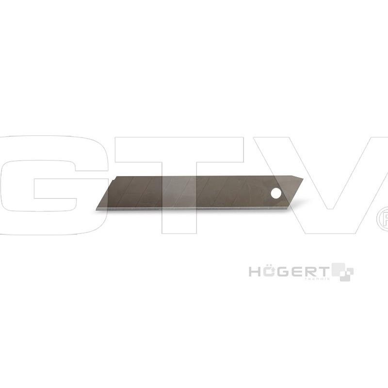 GTV Запасные сегменты для ножа 18 мм 10шт в уп.