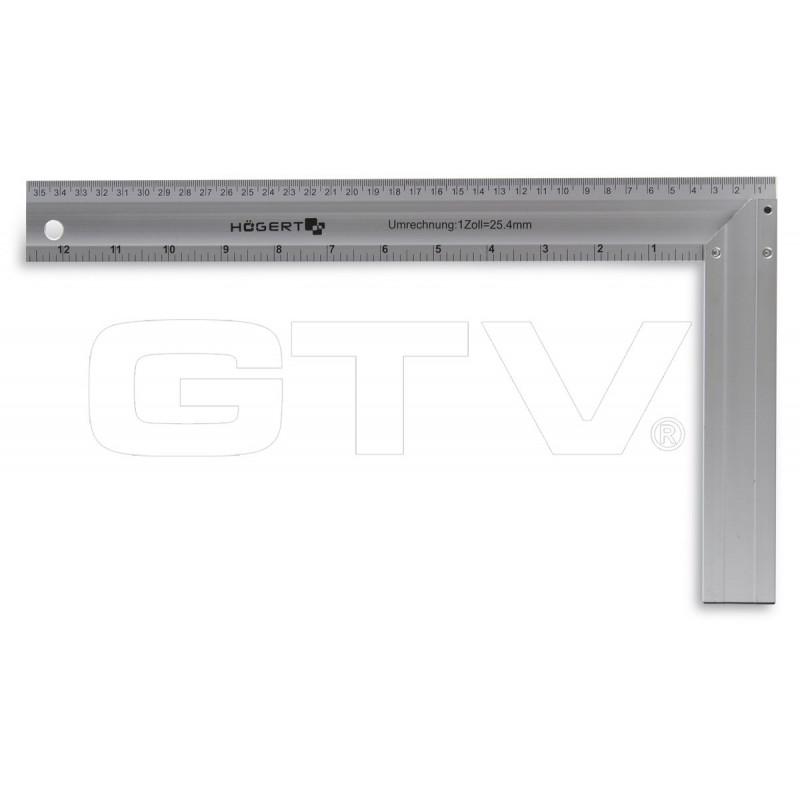 GTV Угольник столярный алюминиевый