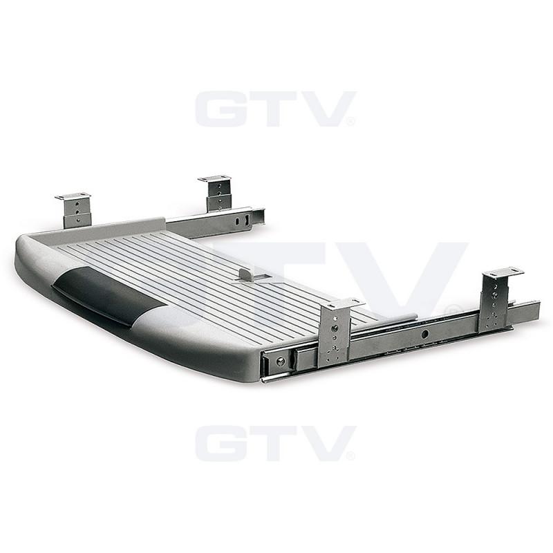 GTV Полка под клавиатуру серая