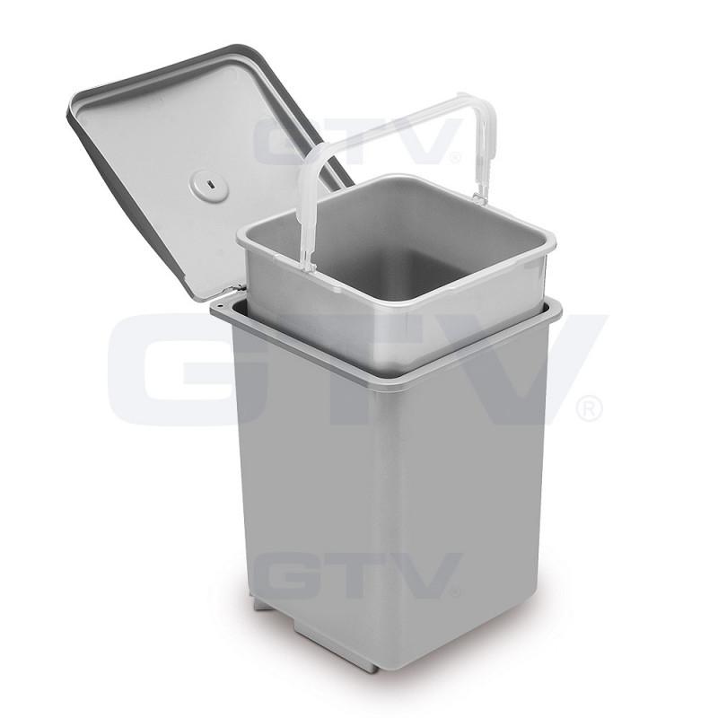 GTV Ведро для мусора QUADRA 13 л