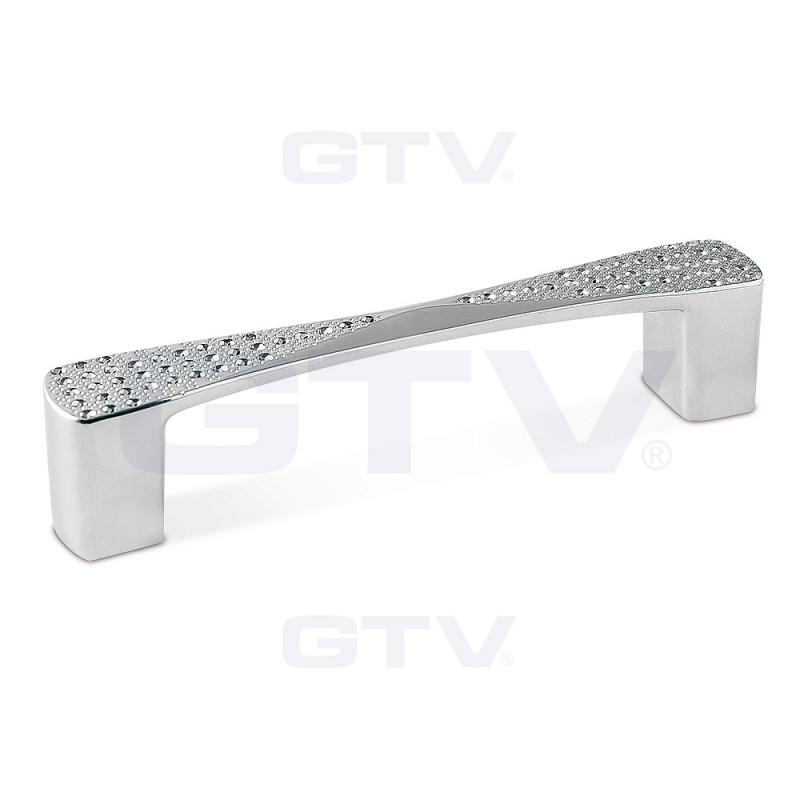GTV Ручка COMO (128 мм, хром)