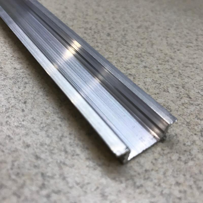 Профиль алюминевый врезной ЛПВ7 (не анод)