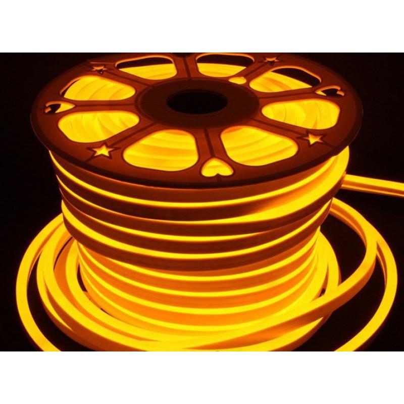 Лента BIOM NEON smd 3528 120 s/m 8W, IP65 Gold