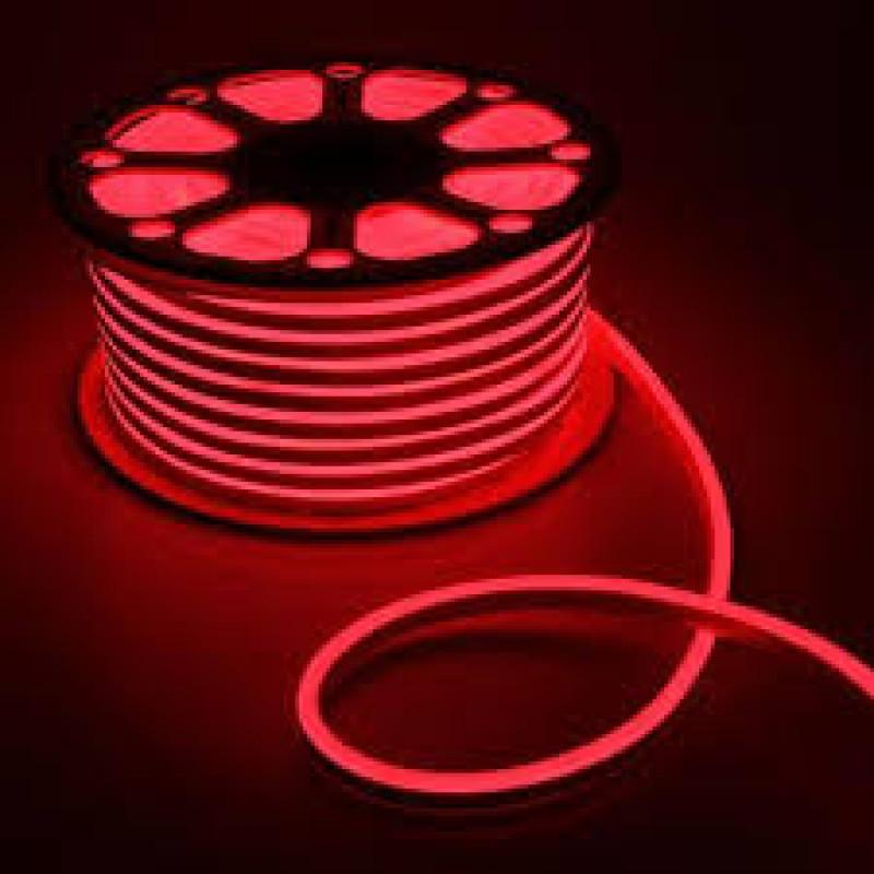 Лента BIOM NEON smd 3528 120 s/m 8W, IP65 RED