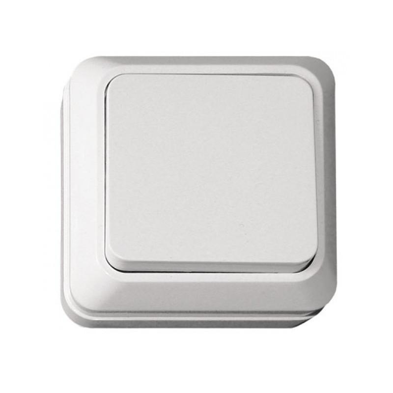 Выключатель накладной OPERA белый