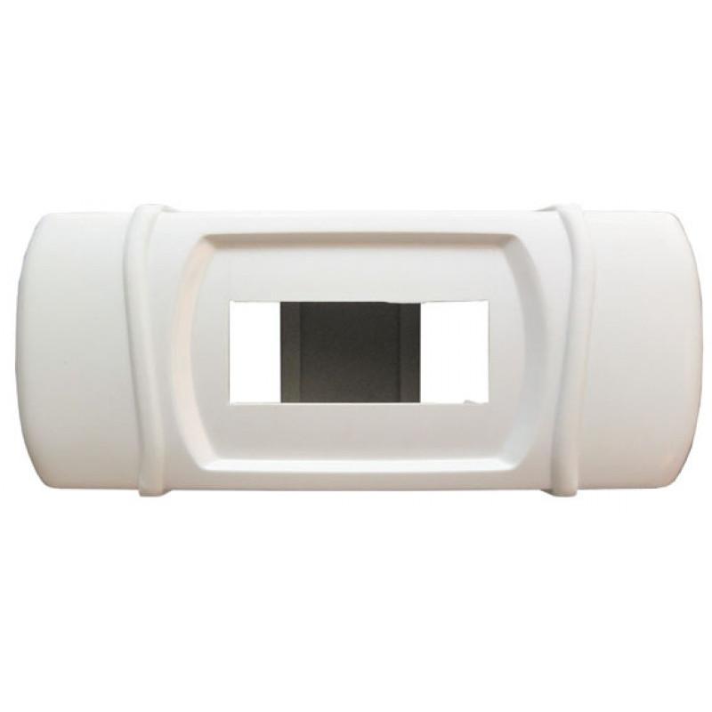 Короб на 1- 2 автомата (наружный) белый