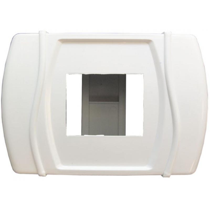 Короб на 3- 4 автомата (наружный) белый