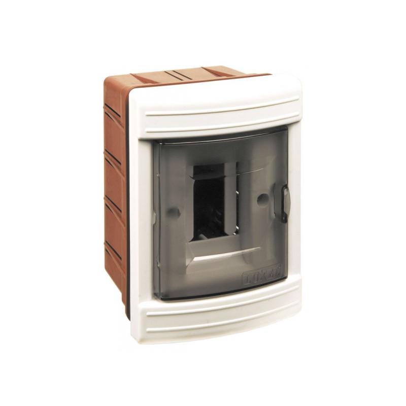 Короб на 2 автомата (внутренний) белый
