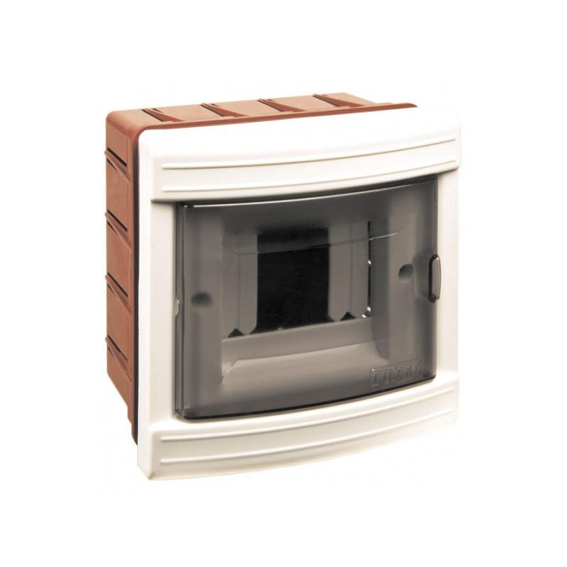 Короб на 4 автомата (внутренний) белый