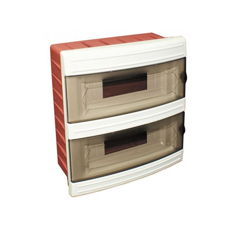 Короб на 16 автоматов (внутренний) белый
