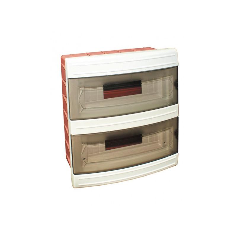 Короб на 24 автомата (внутренний) белый