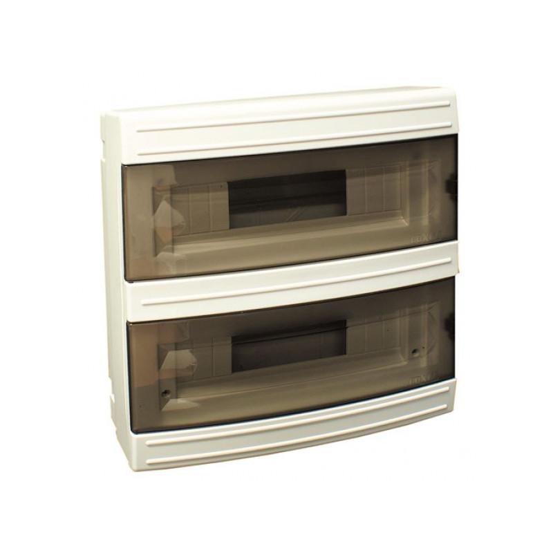 Короб на 24 автомата (наружный) белый