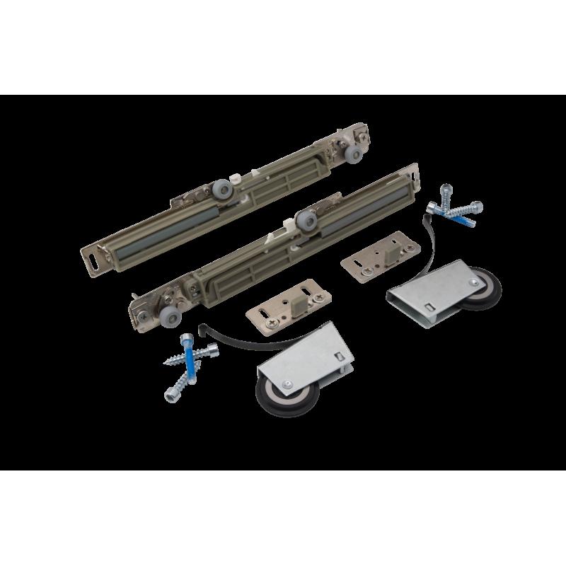 Доводчик на раздвижную систему (комплект на 1 дверь с креплением)
