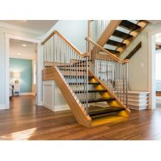 Как сделать деревянную лестницу