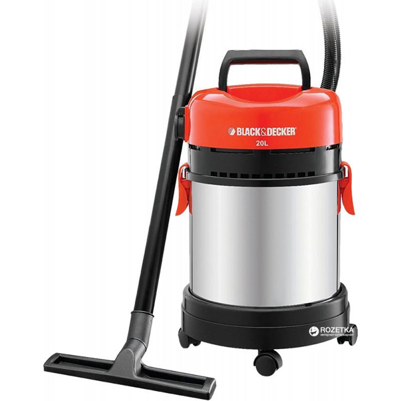 Сетевой пылесос для влажной и сухой уборки BLACK+DECKER WBV1450