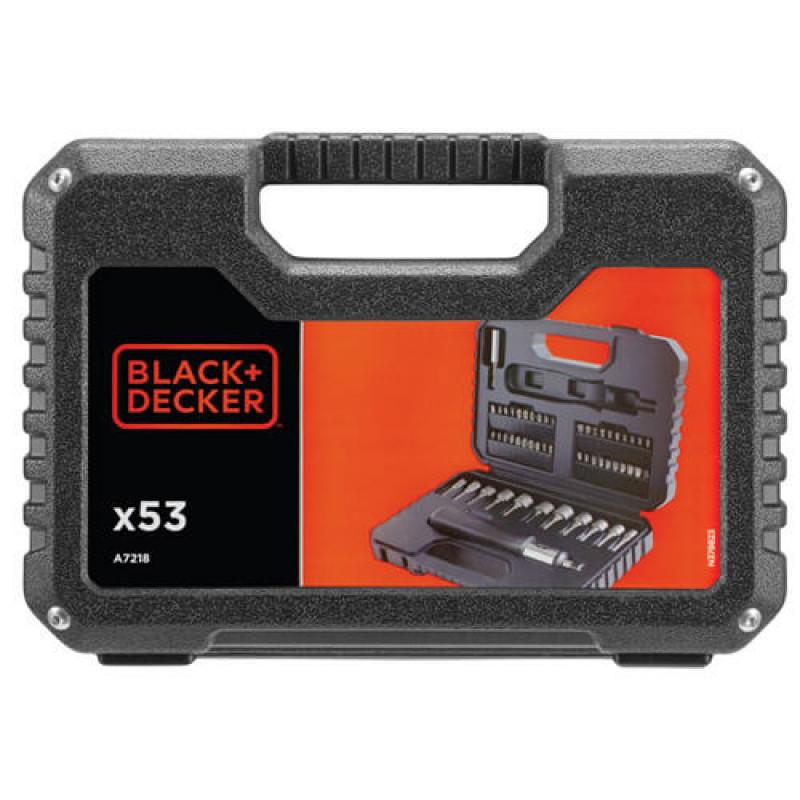 Набор бит и сверл BLACK+DECKER A7218