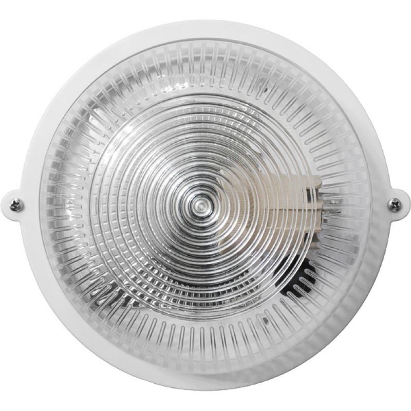 Круг белый прозрачный плафон 12WПП-1001-10-0/6 (пластик/пластик) LED