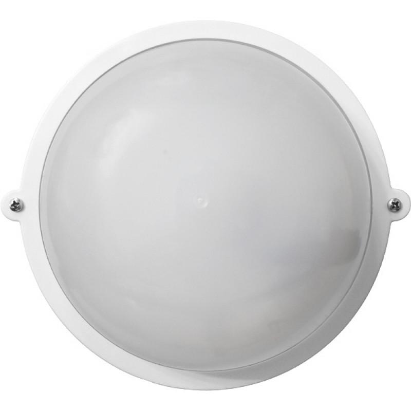 Круг белый опаловый плафон 12WПП-1001-07-0/6 (пластик/пластик) LED