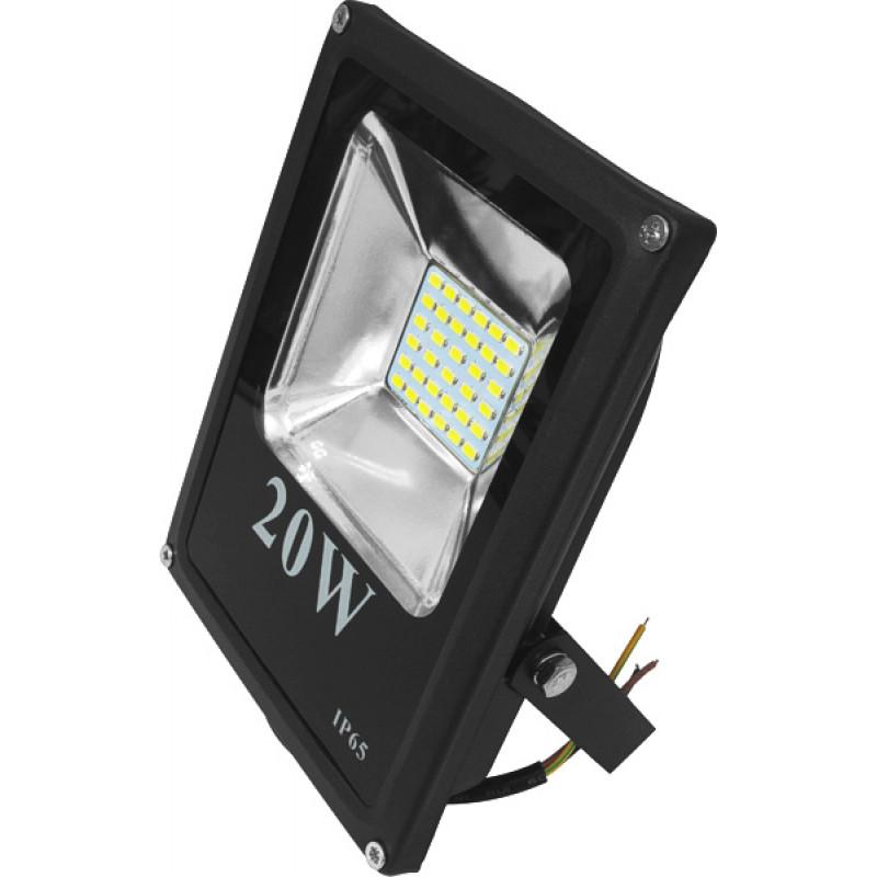 Прожектор светодиодный UА LED20-1400/6500/NIS (черный/белый)