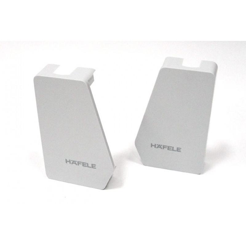 Hafele Заглушки для FREE FLAP 1.7 антрацит (RAL 7043)